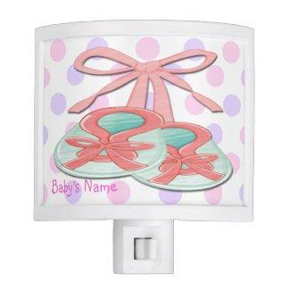 Girl Baby Booties Night Light
