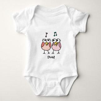 Girl Baby Byrdies Duet Baby Bodysuit
