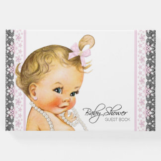Girl Baby Shower Guest Books