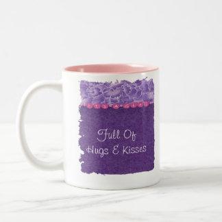 Girl-baby shower Two-Tone coffee mug
