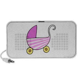 Girl Baby Stroller Speakers