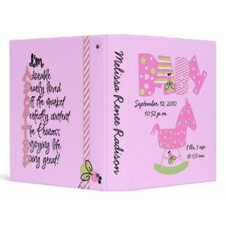 Girl Babybug Photo Album binder