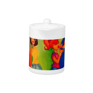 Girl band Jam session Teapot