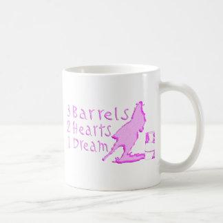 GIRL BARREL RACING COFFEE MUG
