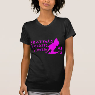 GIRL BARREL RACING T-SHIRTS