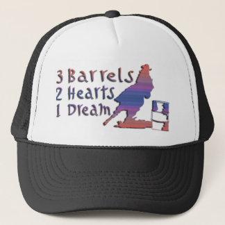 GIRL BARREL RACING TRUCKER HAT
