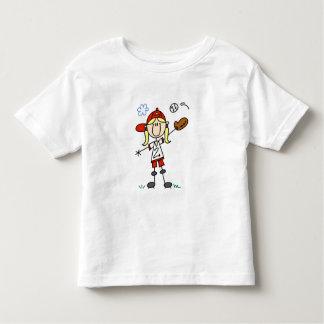 Girl Baseball Player Tshirts and Gifts