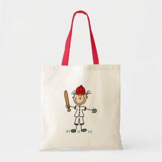 Girl Baseball Player Tshirts and Gifts Tote Bag