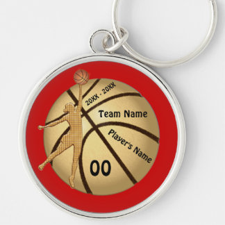 Girl Basketball Senior Night Gifts Your Text Color Keychain