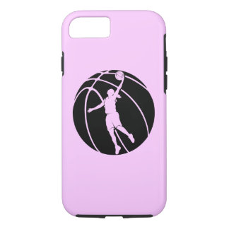 Girl Basketball Silhouette iPhone 8/7 Case