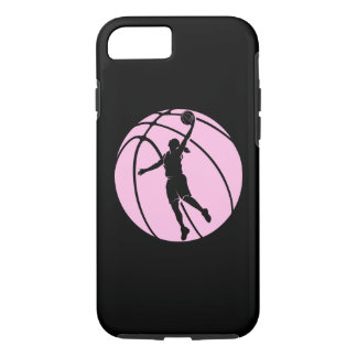 Girl Basketball Silhouette Shooting iPhone 8/7 Case