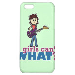 Girl Bass Guitar Player Case For iPhone 5C
