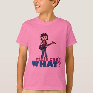 Girl Bass Guitar Player T-Shirt