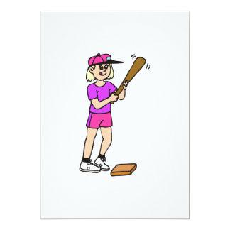 girl batter card