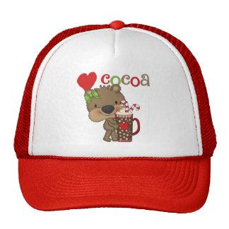 Girl Bear Cocoa Love Trucker Hats