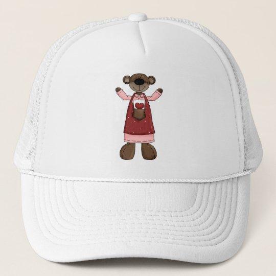 Girl Bear Four Trucker Hat