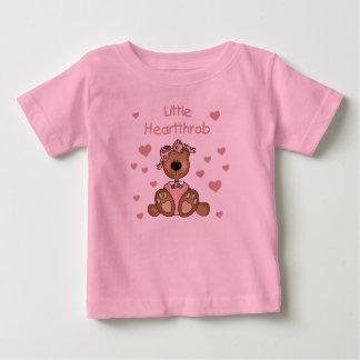 Girl Bear Little Heartthrob Baby T-Shirt
