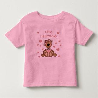 Girl Bear Little Heartthrob Tee Shirt