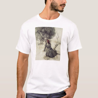 Girl Beside a Stream T-shirt