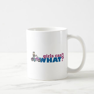 Girl Biker Coffee Mug