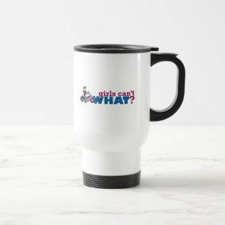 Girl Biker Travel Mug