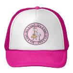 Girl Birth Announcement Trucker Hats
