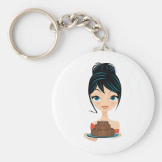 girl birthday key chains