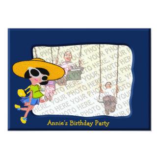 Girl Birthday Party Invitation