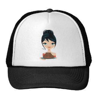 girl birthday trucker hat