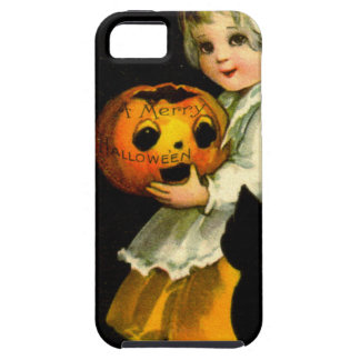 Girl & Black Cat iPhone SE/5/5s Case