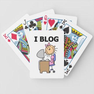 Girl Blogger Poker Cards