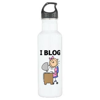 Girl Blogger Water Bottle