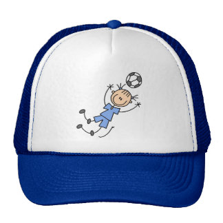 Girl Blue Soccer Uniform Tshirts and Gifts Trucker Hat