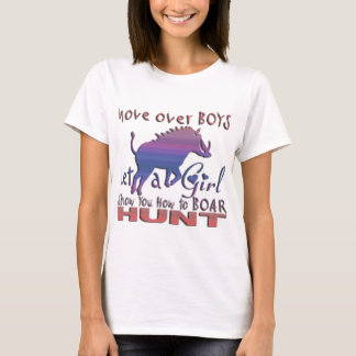 GIRL BOAR HUNTING T-Shirt