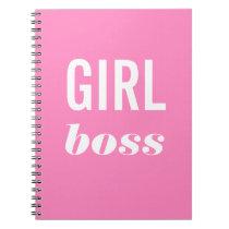 Girl Boss Feminist Notebook