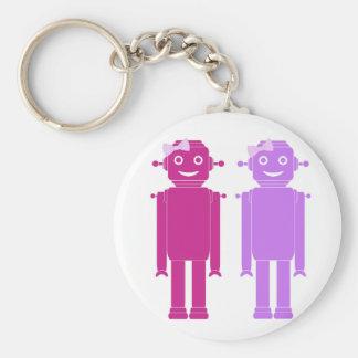 Girl Bots Keychain