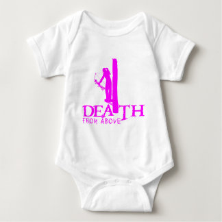 GIRL BOWHUNTER BABY BODYSUIT