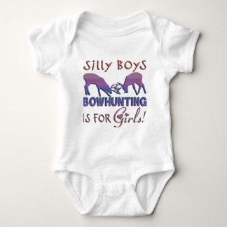 GIRL BOWHUNTER DEER BABY BODYSUIT