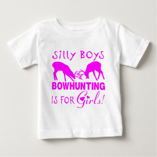 GIRL BOWHUNTER DEER BABY T-Shirt