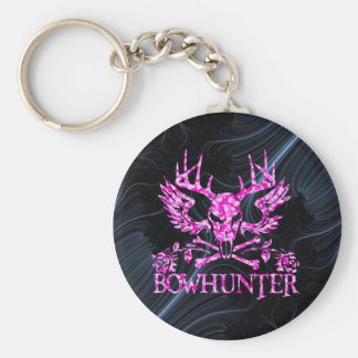 GIRL BOWHUNTER KEYCHAINS