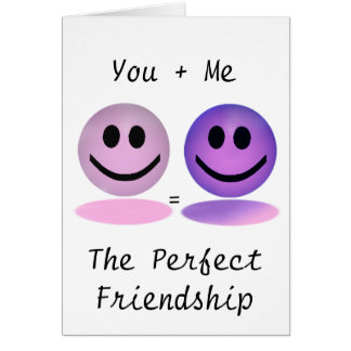 Girl+Boy Perfect Friendship Card