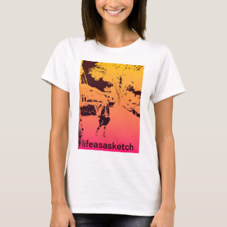 girl by the clocktower T-Shirt