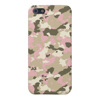 GIRL CAMO CASE FOR iPhone 5