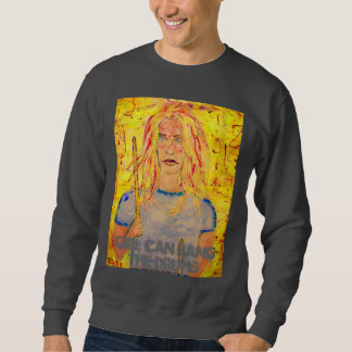 girl can bang the drums sweatshirt