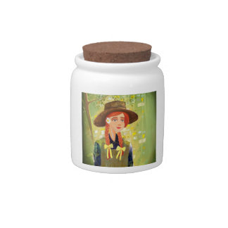girl Candy Jar