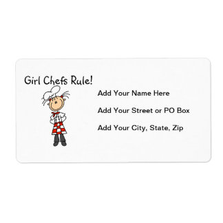 Girl Chefs Rule Label