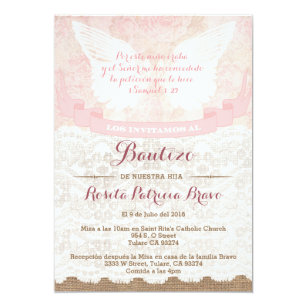bautizo invitations zazzle