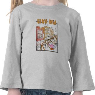 Girl City Kid T-shirts