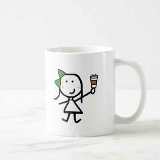 Girl & Coffee Coffee Mug