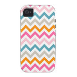Girl Colors Chevron Zigzag iPhone4 Cover iPhone 4 Covers